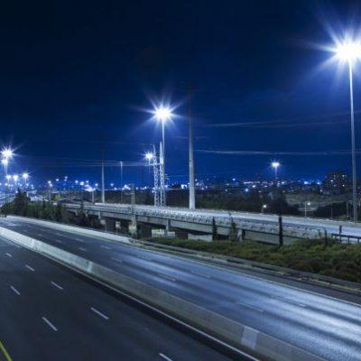 LED-roadway-lighting-at-night - 400x
